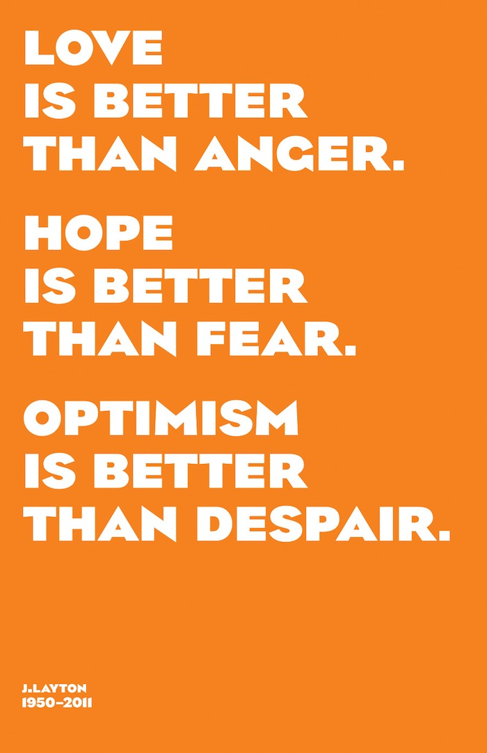 jack layton hope