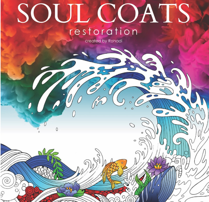 Adult Colouring Book by Calgary Illustrators